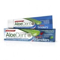 5ffdb6671c1865 Aloe Dent Optima Pasta do zębów dla palaczy Smokers bez fluoru 100ml